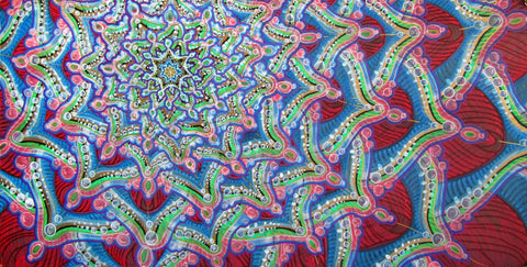 Jelly Chrysanthemum, art - Michael Garfield Visionary Art (michaelgarfieldart.com)