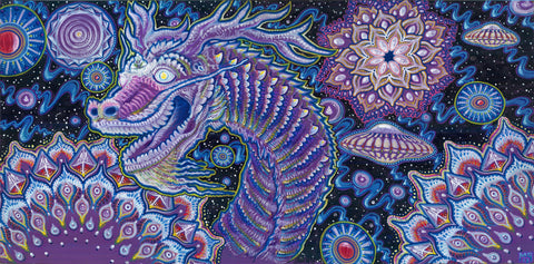 Every Day Is A New Year, art - Michael Garfield Visionary Art (michaelgarfieldart.com)
