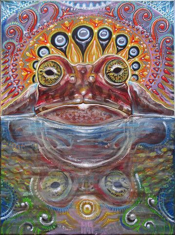 Żabka, art - Michael Garfield Visionary Art (michaelgarfieldart.com)