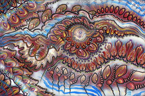 Endothelial Goo Conveyor, art - Michael Garfield Visionary Art (michaelgarfieldart.com)
