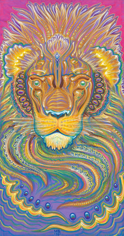 Good Kitten, art - Michael Garfield Visionary Art (michaelgarfieldart.com)