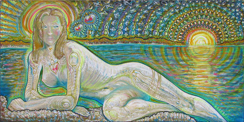 Binary System, art - Michael Garfield Visionary Art (michaelgarfieldart.com)