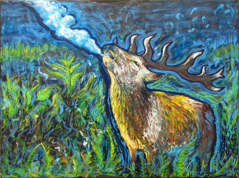 LSDeer, art - Michael Garfield Visionary Art (michaelgarfieldart.com)