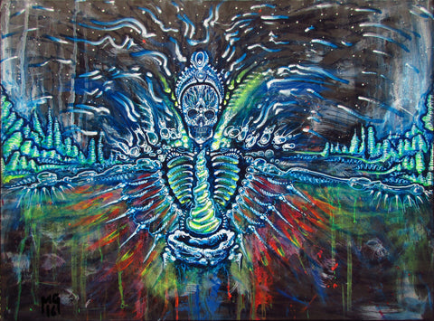 Media Res, art - Michael Garfield Visionary Art (michaelgarfieldart.com)