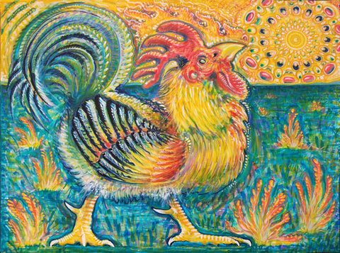 The Oddest Chicken (Year of the Fire Rooster)