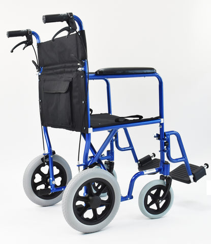 "Invacare Lightweight Transport Wheelchair with 12"" Wheels"