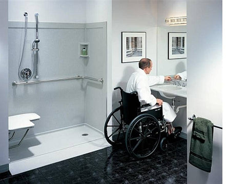 Barrier Free Bathroom Modification Medability Healthcare