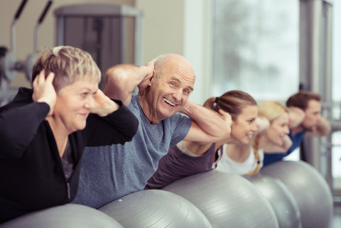 Wintertime Fitness for Seniors