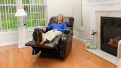 Pride Infinite Position lift chair in room