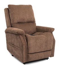 Pride Metro VivaLift Power Lift Recliner Brown in sitting position