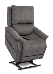 Pride Metro VivaLift Power Lift Recliner Grey in Up Position