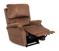 Pride Infinity VivaLift Power Lift Recliner Oat with footrest up
