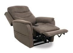 Pride Sierra VivaLift Power Lift Recliner Mossy in recline