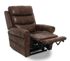 Pride Tranquil VivaLift Power Lift Recliner brown reading position