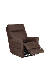 Pride Urbana VivaLift Power Lift Recliner gunmetal footrest