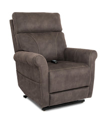 Pride Urbana VivaLift Power Lift Recliner Gunmetal sitting