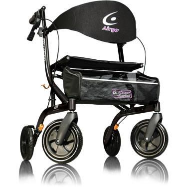 AMG Airgo eXcursion Hemi Height Lightweight Side-fold Rollator