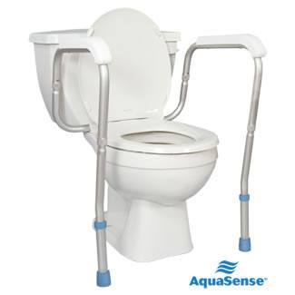 Drive Medical Premium Plastic Elongated Raised Toilet Seat