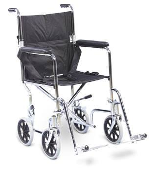 AMG Transport Wheelchair Fixed Armrest