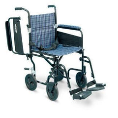 AMG Transport Wheelchair With Flip Up Armrest - MEDability Healthcare Solutions