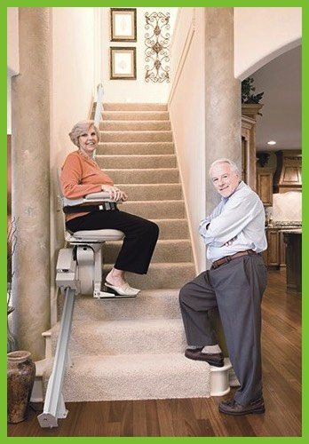 Bruno 2010 Elite Straight Stair Lift - MEDability Healthcare Solutions
