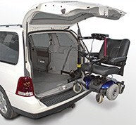 Bruno ASL-325 Vehicle Lift - MEDability Healthcare Solutions