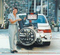 Bruno AWL-180 Vehicle Lift - MEDability Healthcare Solutions