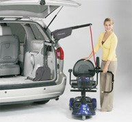 Bruno Curb Sider 193 Vehicle Lift - MEDability Healthcare Solutions
