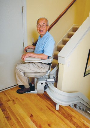 Bruno Custom Curve Stairlift - MEDability Healthcare Solutions