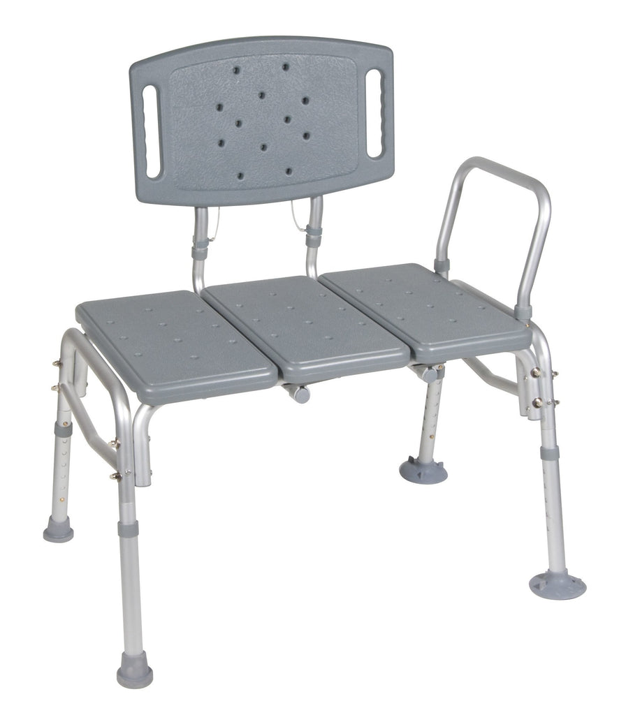 Drive Medical Heavy Duty Bariatric Plastic Seat Transfer Bench - MEDability Healthcare Solutions