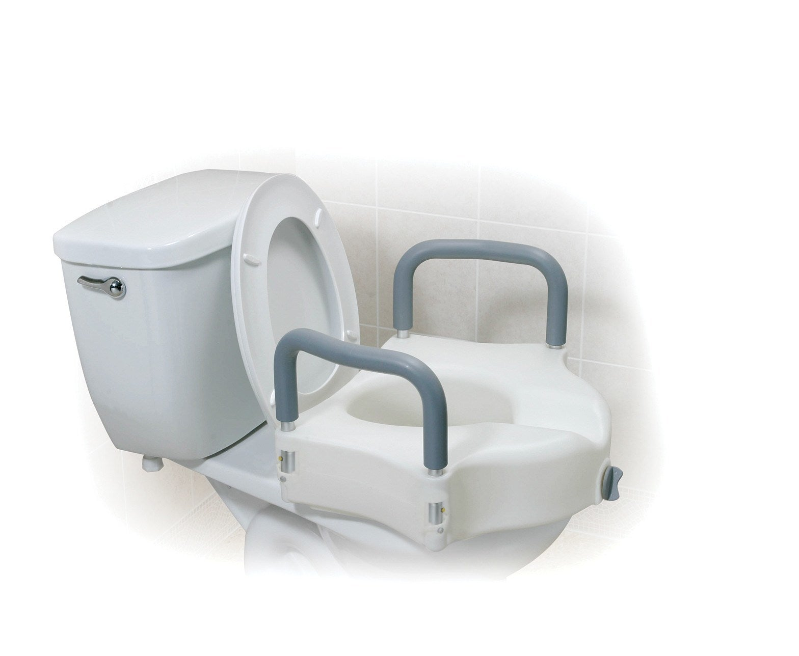 Drive Raised Toilet Seat With Arms.Drive Medical Raised Toilet Seat With Arms Medability Healthcare