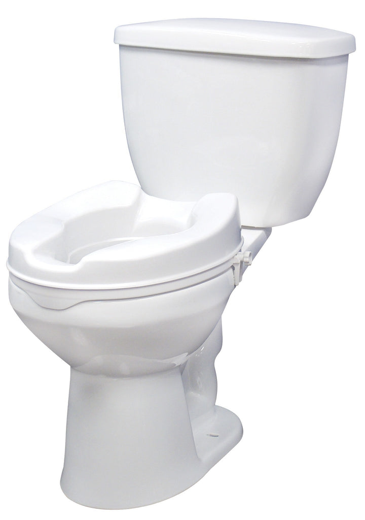 "Drive Medical Raised ToiletSeat 2"" Without Lid - MEDability Healthcare Solutions"