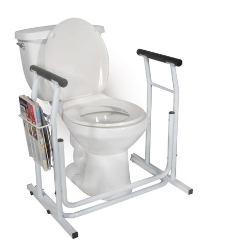 Drive Medical Stand Alone Toilet Safety Rail
