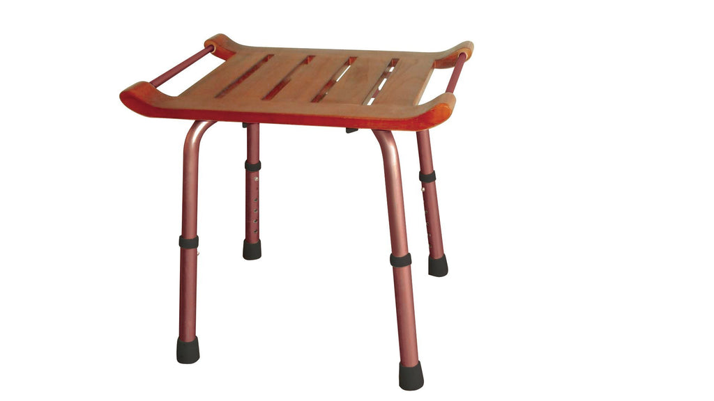 Drive Medical Teak Bath Bench - MEDability Healthcare Solutions