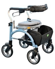 Evolution Xpresso Cable Free Lightweight Rollator - MEDability Healthcare Solutions  - 1