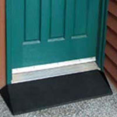Handicare EZ-Access Rubber Threshold Ramps - Wheelchair - MEDability Healthcare Solutions