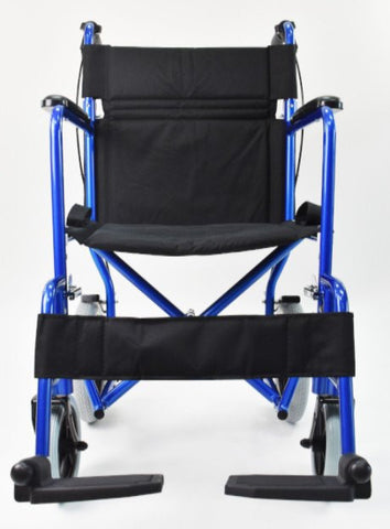 Invacare  Aluminum Transport Wheel Chair with 12