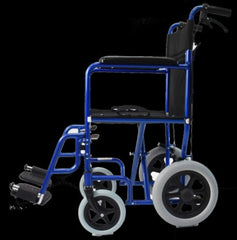 "Default - Invacare  Aluminum Transport Wheel Chair With 12"" Wheels"