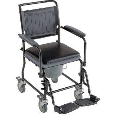 Invacare Glide About Commode with Four Locking Casters - MEDability Healthcare Solutions