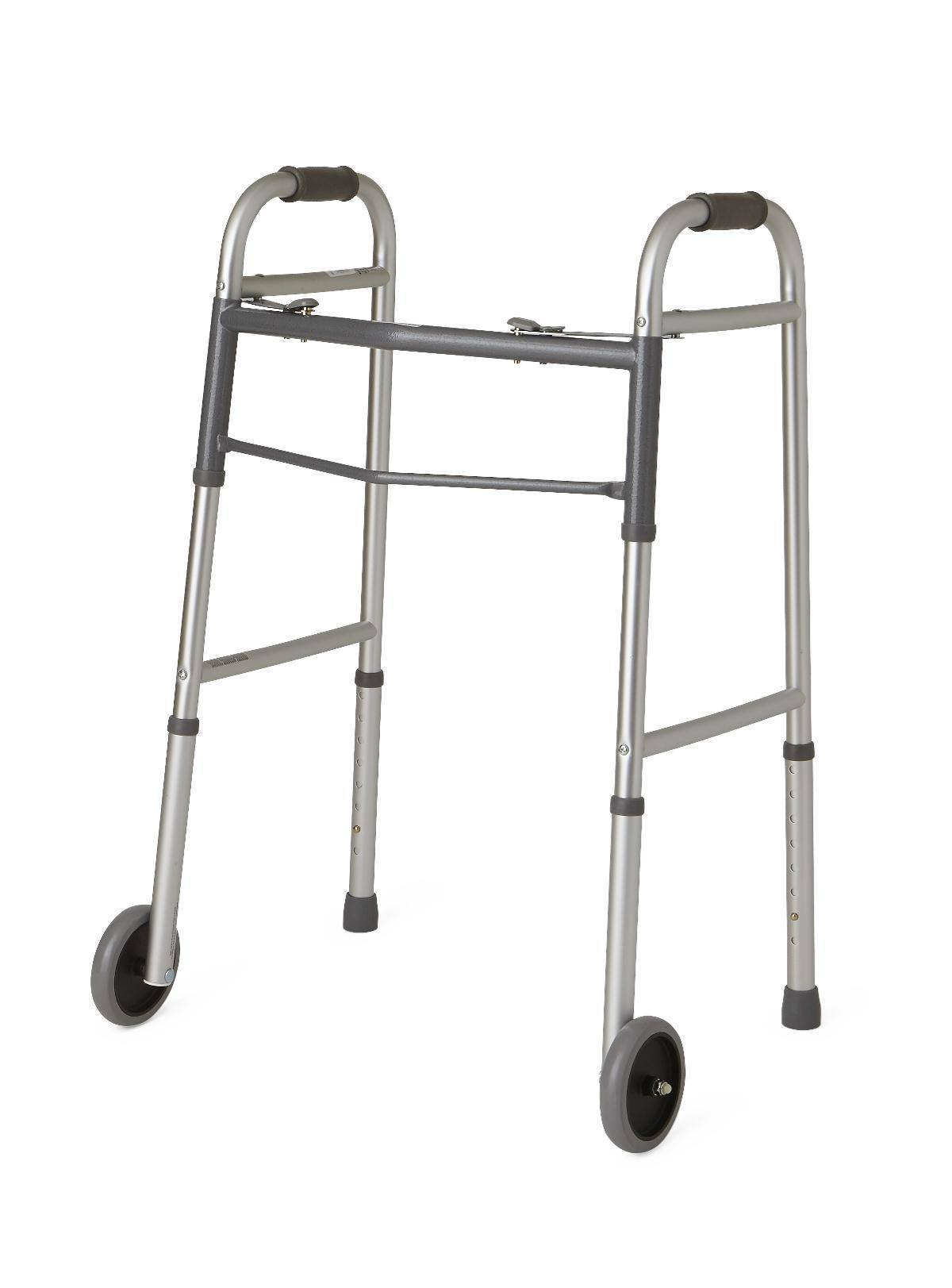 Surprising Medline Guardian Aluminum Folding Walker Gmtry Best Dining Table And Chair Ideas Images Gmtryco