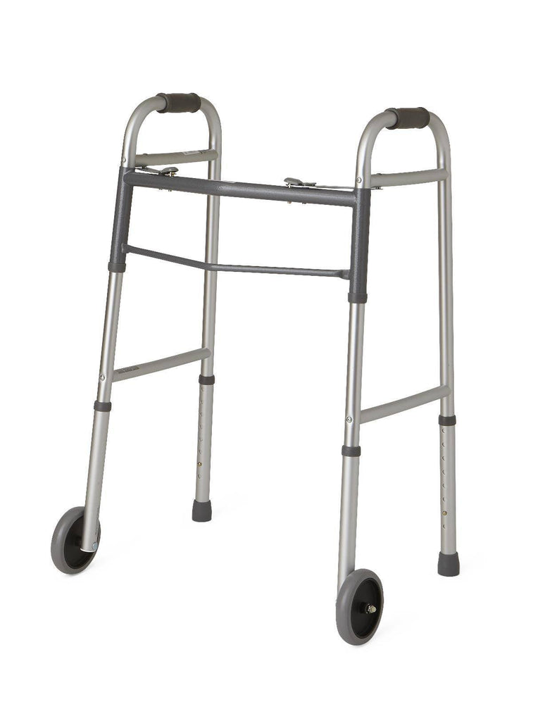 Medline Guardian Aluminum Folding Walker - MEDability Healthcare Solutions