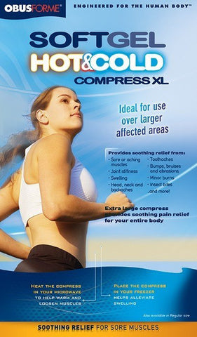 Obusforme Softgel Hot/Cold Compress XL