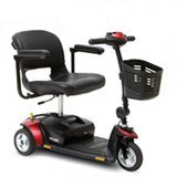 Pride GoGo Elite Traveller 3 Wheel Scooter - MEDability Healthcare Solutions