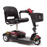Pride GoGo LX CTS 3 Wheel Scooter - MEDability Healthcare Solutions