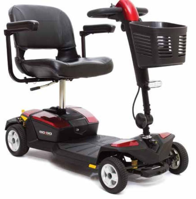 Pride GoGo LX CTS 4 Wheel Scooter - MEDability Healthcare Solutions
