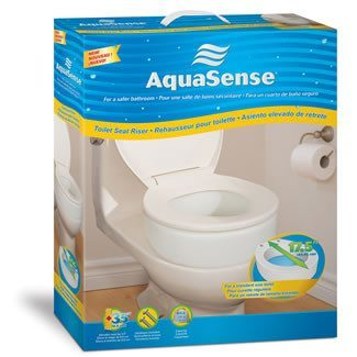"Raised Toilet Seat, Elevator, 3.5"" - MEDability Healthcare Solutions"