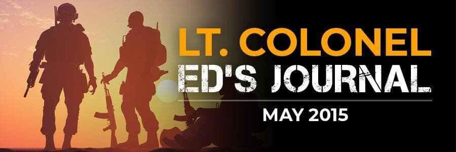 LTC Ed's Journal | May 2015