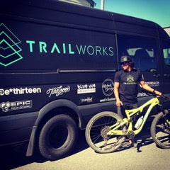 BodyHealth Team Member Brian Astell by his really cool TrailWorks Mercedes Van!