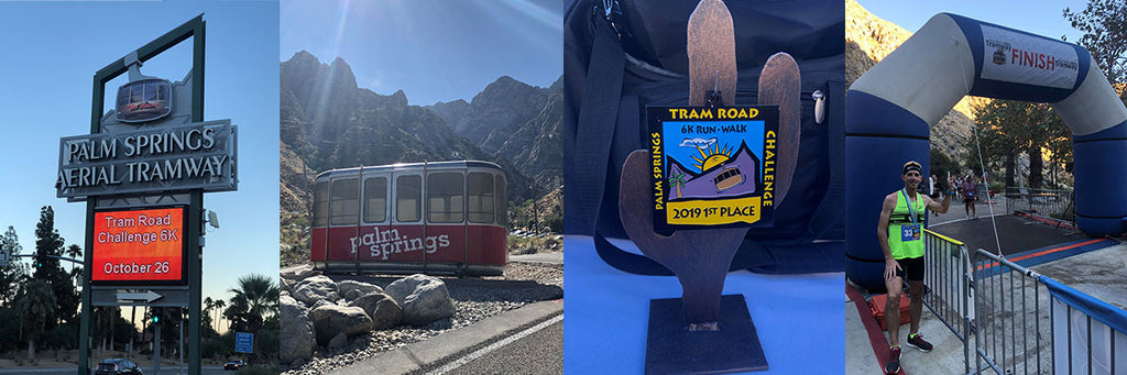 CJ Hitz overall winner at Palm Springs Tram Road Challenge 6K 2019