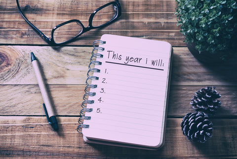 New year resolutions - 2018 Think it through - article by Cherie Gruenfeld